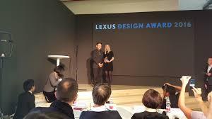 lexus parts toronto canada milan design week with lexus canada the booklet