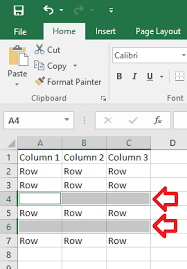 excel 2016 u2013 how to delete empty rows u2013 it support guides