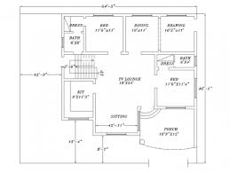 complete house plans fascinating complete house plan in autocad 2d autocad tutorial