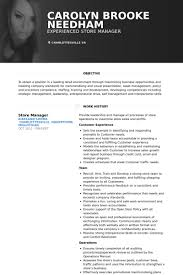Merchandise Manager Resume Sample by Store Manager Resume Samples Visualcv Resume Samples Database