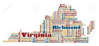 Map Of The State Of Virginia by Virginia Map Stock Photos Royalty Free Virginia Map Images And
