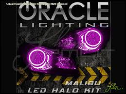 Malibu Landscape Light by Oracle 08 12 Chevrolet Malibu Led Dual Color Halo Rings Headlights