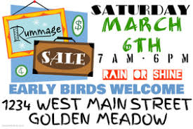 garage sale poster templates postermywall