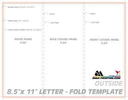 letter size brochure template printing company inc 8 5 x 11 letter tri or roll fold