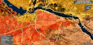 situation in southern raqqah on august 25 2017 map update