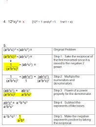 multiplying dividing exponents worksheets negative exponents and zero exponents