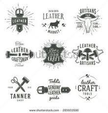 vector art set of vintage tailor labels and emblems logomio