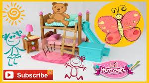 Bunk Beds Bedroom Set Li U0027l Woodzeez Bunk Bed Bedroom Set Youtube