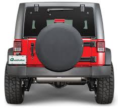 2005 jeep liberty spare tire cover bestop spare tire covers in black quadratec