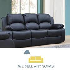 leather corner recliner sofa living room valencia black bonded leather recliner sofa with