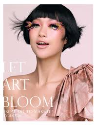 make up artist books new book let bloom from to makeup wahahafactory
