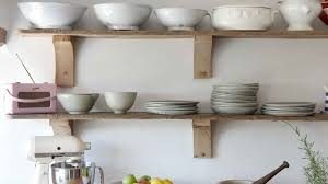 wall mounted kitchen shelves kitchen great reclaimed wood kitchen wall shelves glamorous