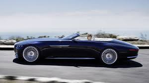 maybach sports car mercedes maybach 6 cabriolet concept debuts at the 2017 pebble