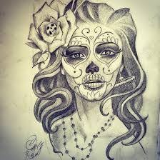 image result for beautiful skull tattoos for ideas
