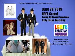 wedding invitations quezon city free grand lgbt mass holy union wedding on june 22 2013 lgbts