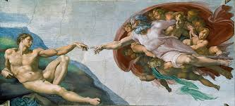 most famous paintings the creation of adam by michelangelo