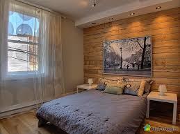 mur de chambre en bois mur en bois de pruche recherche chambre