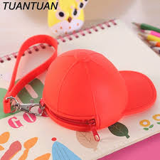 Desk Clips Tuantuan Red Color Small Silicone Hat Shape Office Desk