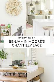 what is the best benjamin paint for kitchen cabinets my review of benjamin s chantilly lace best white