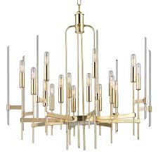 Brushed Brass Chandelier Products Hudson Valley Lighting