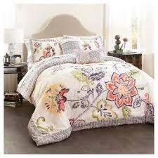 Dahlia 5 Piece Comforter And by Cotton Full Queen Comforter Set Target