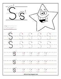 free printable worksheet letter s for your child to learn and