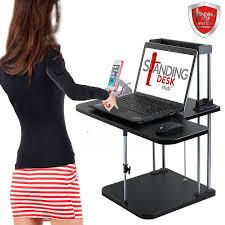 Adjustable Computer Stand For Desk Desks Sit To Stand Workstations Adjustable Computer Desk For