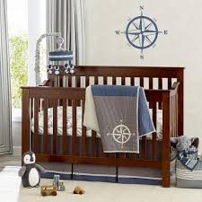 Mini Crib Bedding For Boy by Baby Boy Bedding Sets Modern