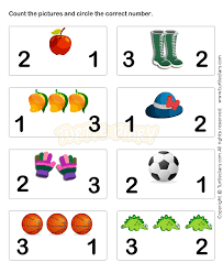 learn numbers worksheets for preschoolers c is for children