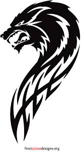 angry wolf tribal viking and tribal art pinterest angry wolf