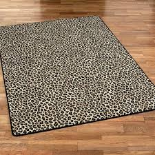Leopard Print Runner Rug Giraffe Print Carpet Charming Animal Print Runner Rug Flooring