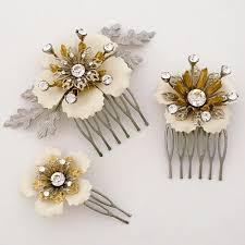 hair comb accessories bridal hair accessories monkey business hair comb set