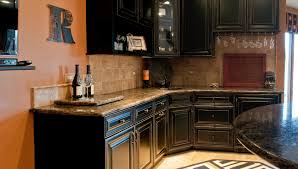 Black Bar Cabinet Basement Bar Design Naperville Wheaton Il