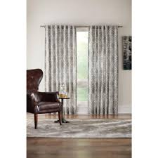 Brown Floral Curtains Floral Curtains U0026 Drapes Window Treatments The Home Depot