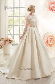 wedding dress muslimah vintage white women sleeve muslim wedding dress lace 2017
