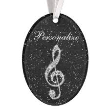 musical notes ornaments keepsake ornaments zazzle