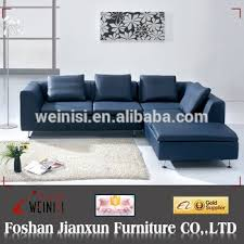 a015 blue leather sofa blue leather sectional sofa small l shaped