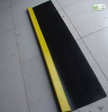 high quality colorful rubber stair treads pvc stair steps for