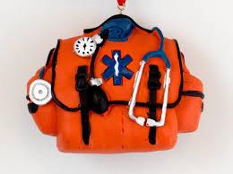 emt paramedic bag ornament winterwood gift shoppes
