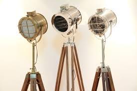 Tripod Floor Lamps Industrial Tripod Floor Lamps