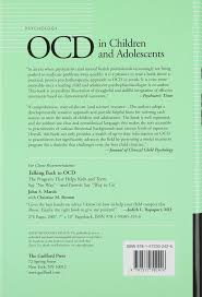 ocd in children and adolescents a cognitive behavioral treatment