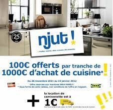 offre cuisine cuisine ikea promo cuisine en image