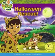 halloween rescue diego book artful doodlers