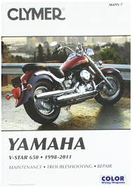 amazon com clymer yamaha v star 650 1998 2011 ronwright