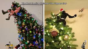 christmas tree toppers the most creative christmas tree toppers