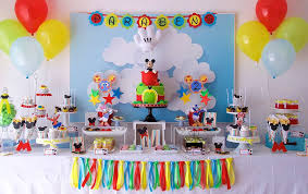 mickey mouse clubhouse party resultado de imagem para how to dessert table birthday ideas