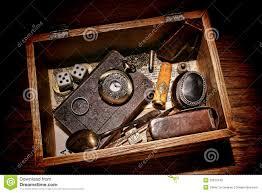 Pioneer Photo Box American West Legend Pioneer Keepsake Vintage Box Royalty Free