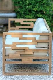 curves brown benchmodern wooden garden furniture uk modern outdoor