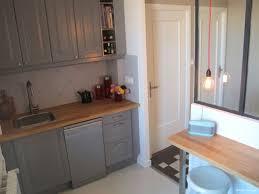 caseo cuisine cuisine avec verrière inside création cuisine rétro grise