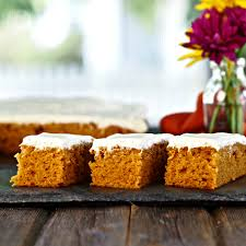 pumpkin bars simply sated